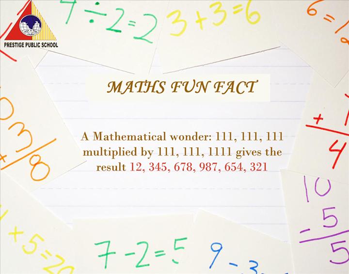 #MathsFact #Learning #AmazingFact #Education #PrestigePublicSchool #Dewas