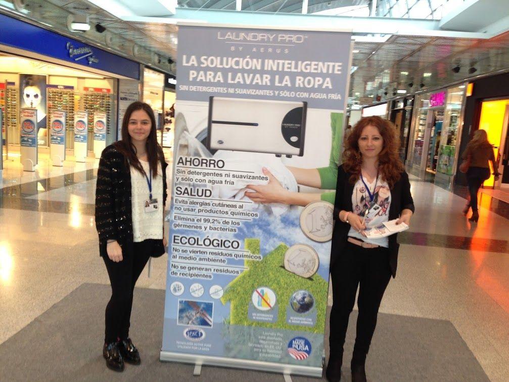 Estamos de promoción en el Centro Comercial Intu Asturias, del 15 al 30 de abril #laundrypro  Laundry Pro España: Google+