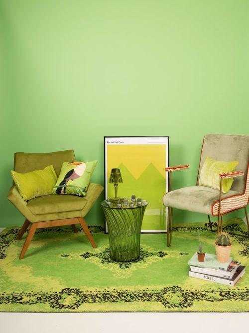 Mix\u0027n\u0027Match geht auch in Grün Unterschiedliche Grüntöne lassen sich - wohnzimmer design grun