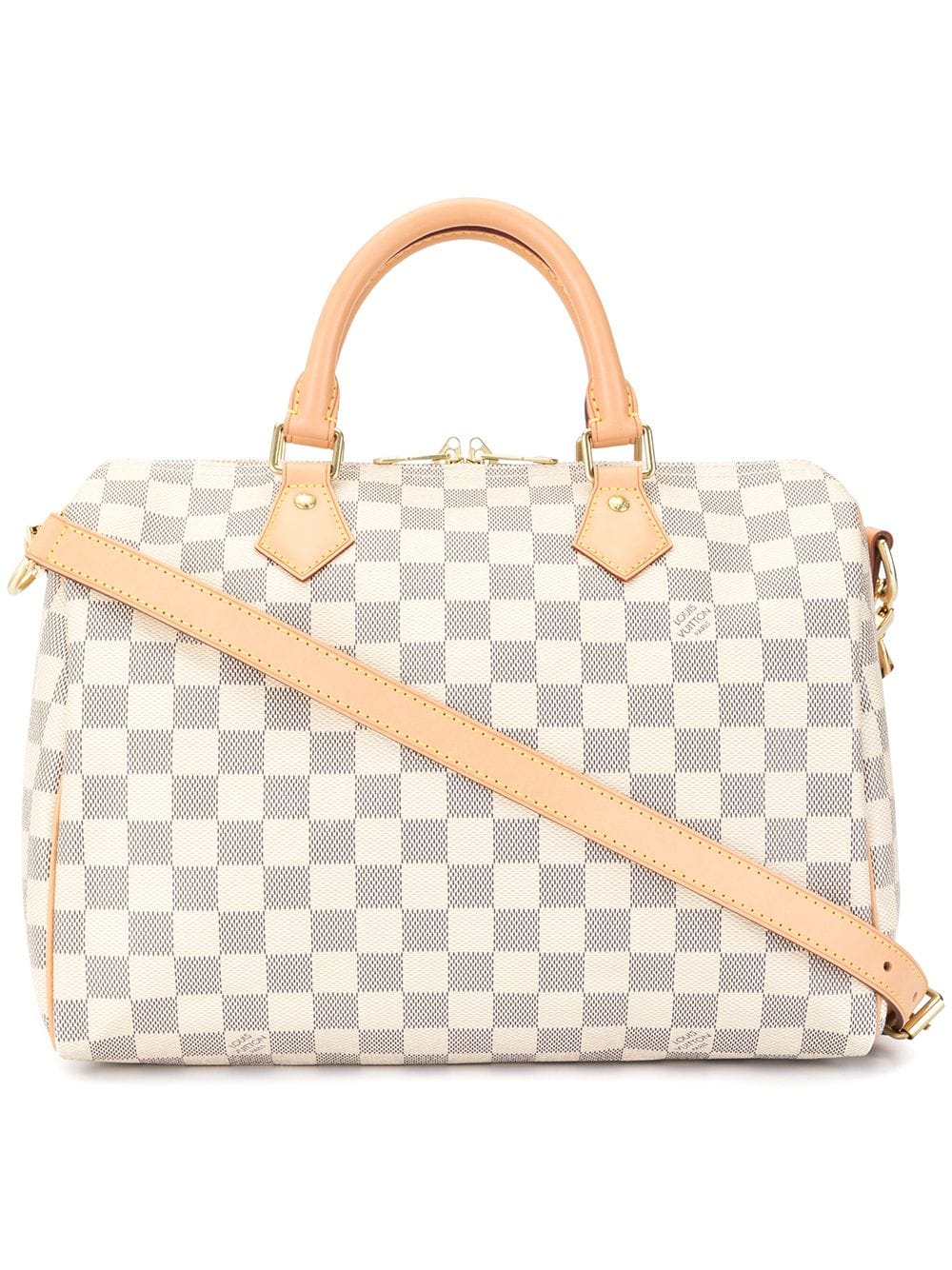 Louis Vuitton Pre Owned Speedy Bandouliere 30 Damier Tote Louis Vuitton Speedy Bandouliere Louis Vuitton Strap Louis Vuitton