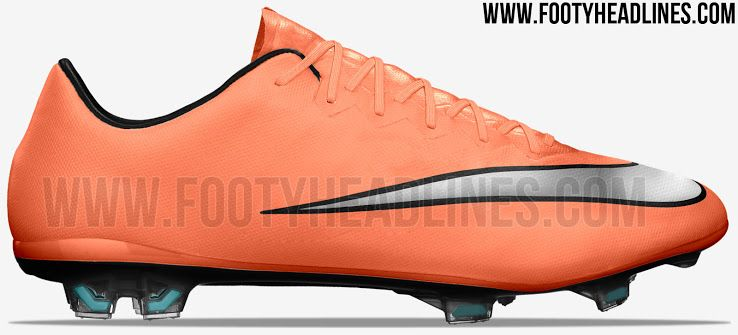 reputable site 5060e dfa81 Nike Mercurial Vapor X - Bright Mango Metallic Silver Hyper Turquoise