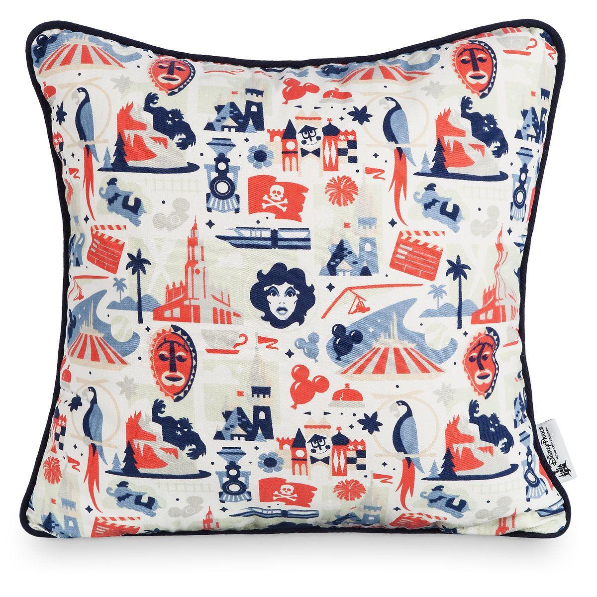 Disney Parks Icons Pillow