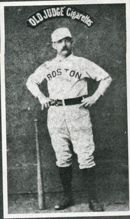 Old Hoss Radbourn Flipping The Bird In This Late 1800s Baseball Card
