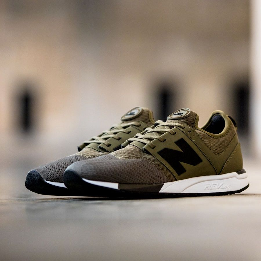 new style 15e2c 29f67 Brand new pair of New Balance NB 247 Sport Olive Black. The shoes as the  name indicate it light, comfortable and stylish. buy it now