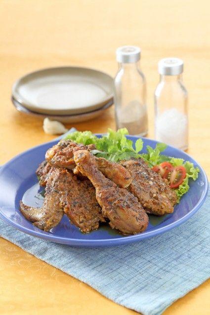 Ayam Bakar Ala Thai Sajian Sedap Turkey Recipes Recipes Cooking Recipes