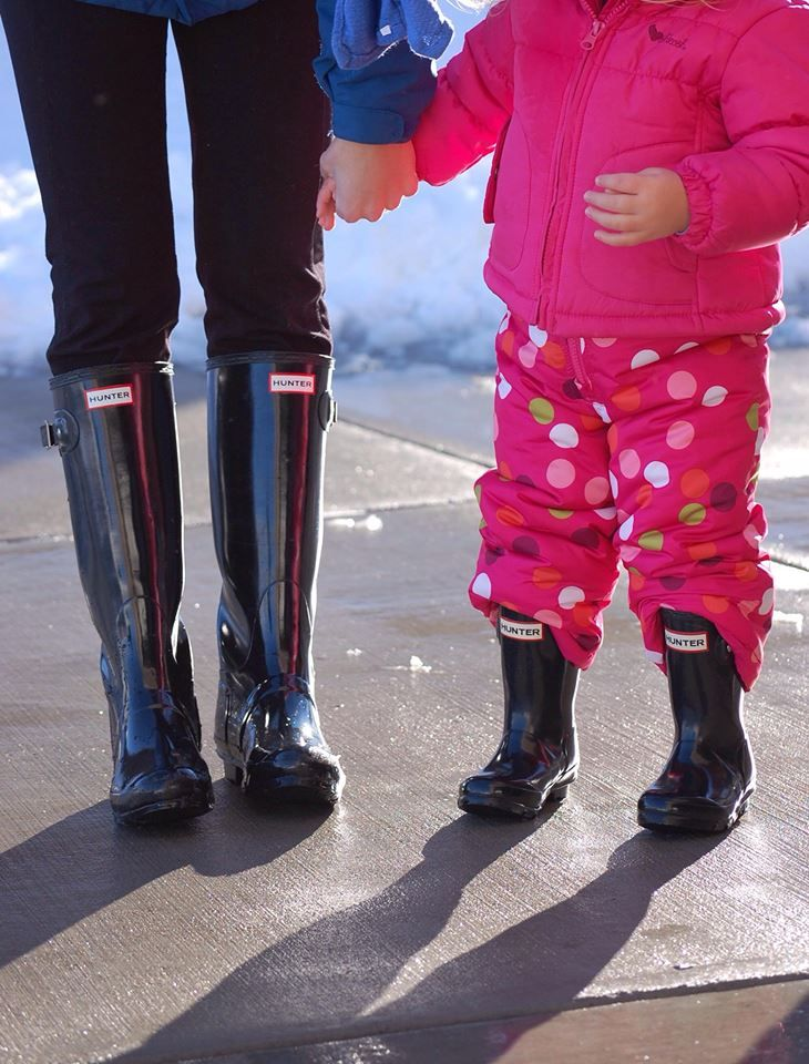 b6ad236870eae3 A must have for Mom and Daughter! Matching Hunter Rain boots! | As soon as  Evie is old enough!