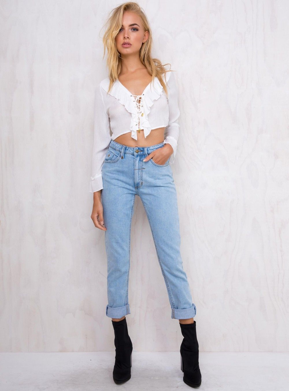 e3585af6ae Thrills Reckless Blue Thelma Jeans
