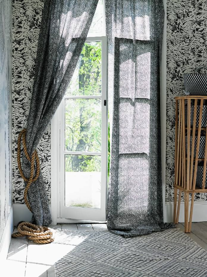 Image result for Monochrome Prints curtains