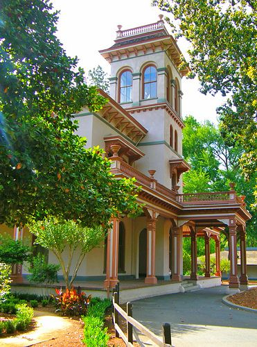 The John And Annie Bidwell Mansion In Chico California Mansions Chico California California Tours