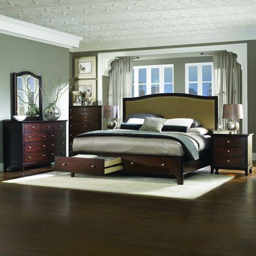 Monroe Heights 6-piece King Bedroom Set $4900 for 6 piece ...