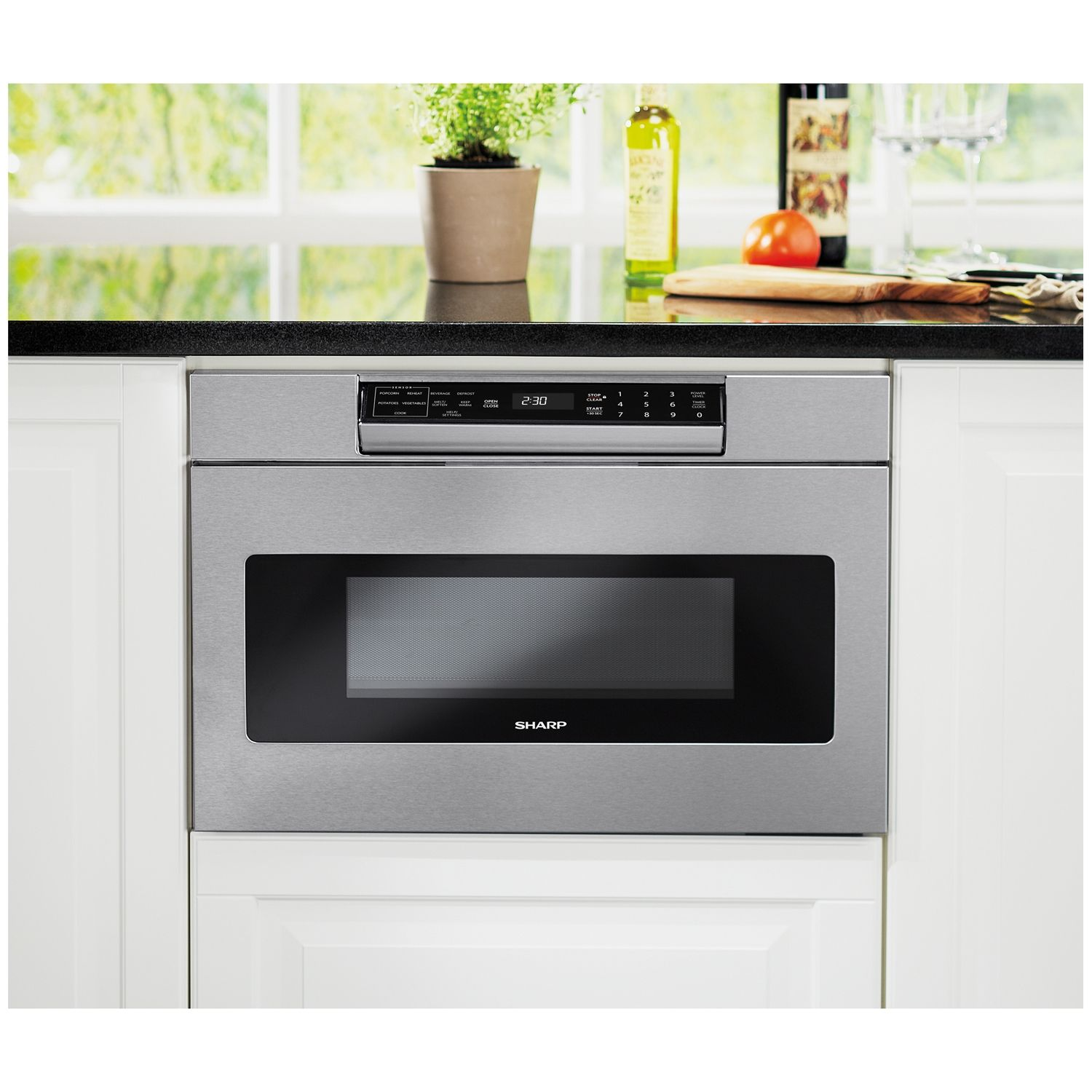 steel microwave com appliances stainless amazon bosch ovens dp drawer