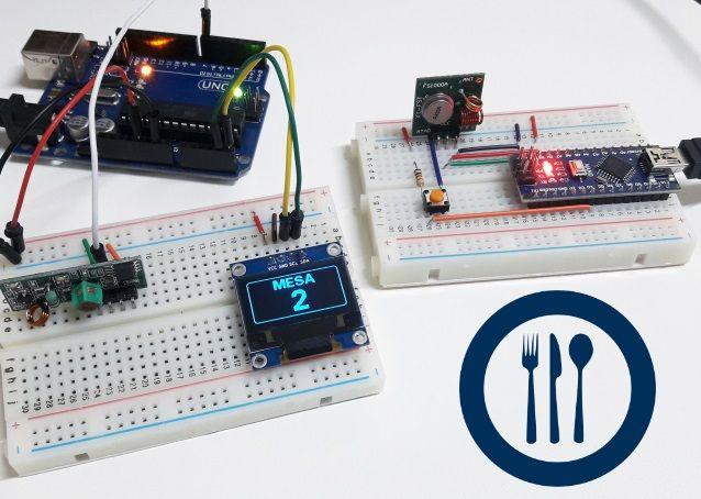 Sistema Chama Garçom Com Arduino E Módulo Rf 433mhz