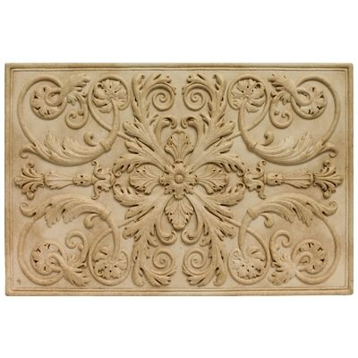 Soci Metallic Resin Plaques SSGI-1221 The Renee Plaque Ivory ...