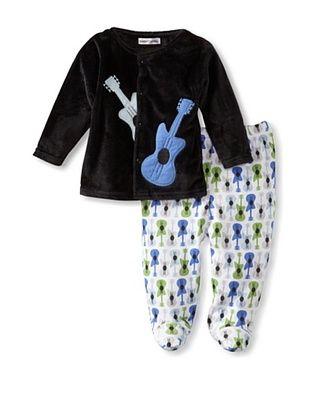 50% OFF Rumble Tumble Baby Plush Jacket Set (Black)