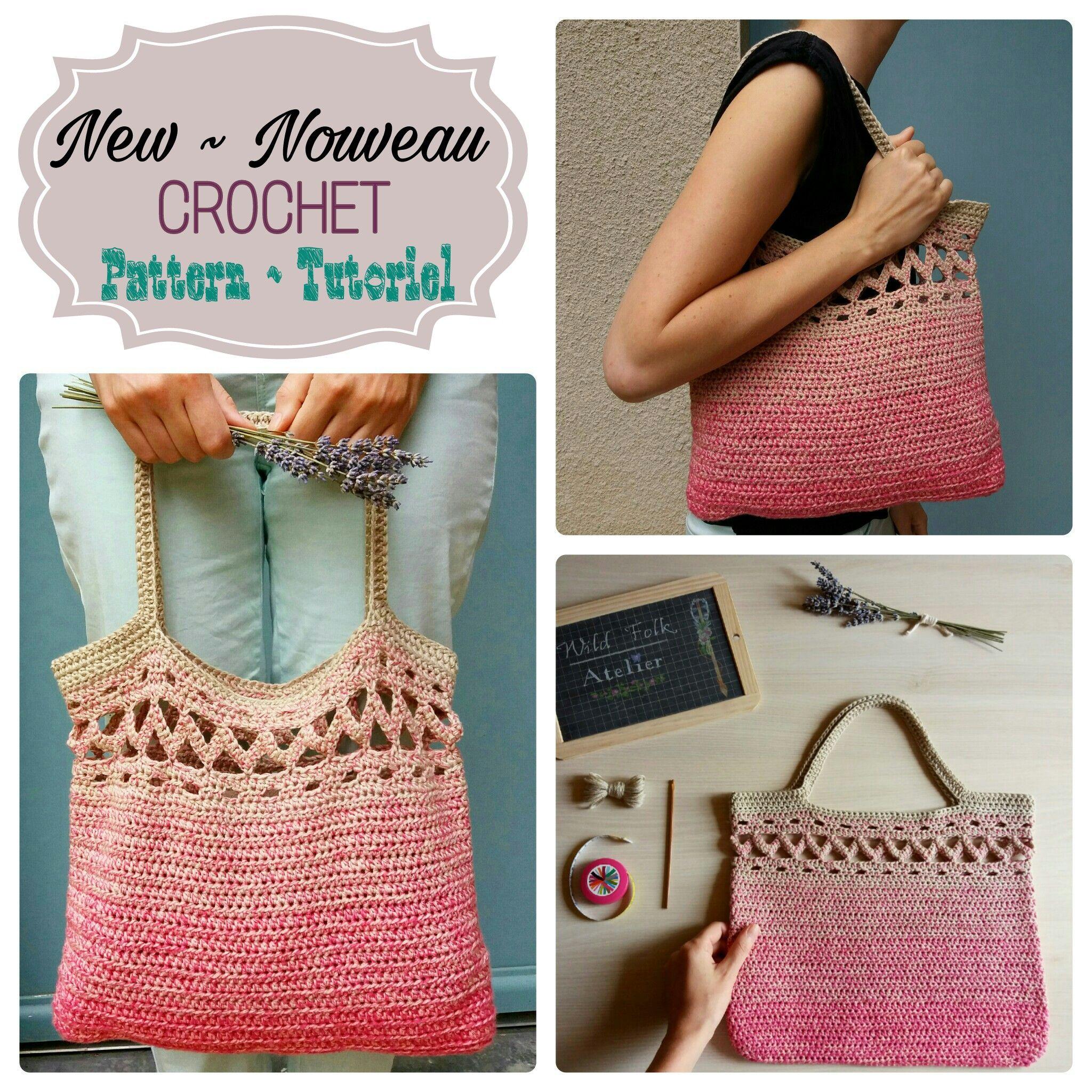 Patron Sac Boho Au Crochet Crochet Boho Bag Pattern