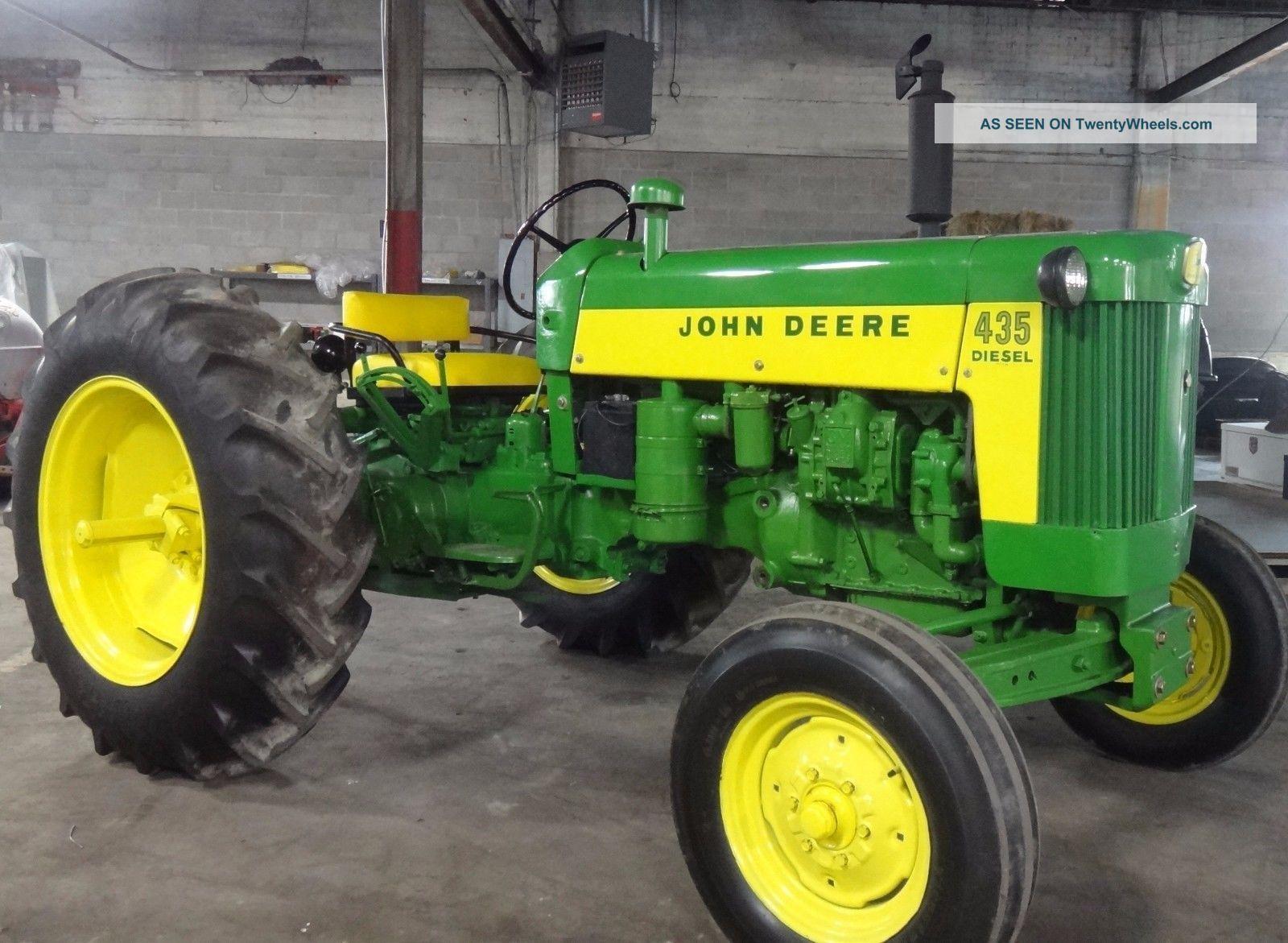 435 John Deere Diesel Tractor 1960 Ie: 430 420 440 330 Detroit 2 - 53  Antique & Vintage Farm Equip photo