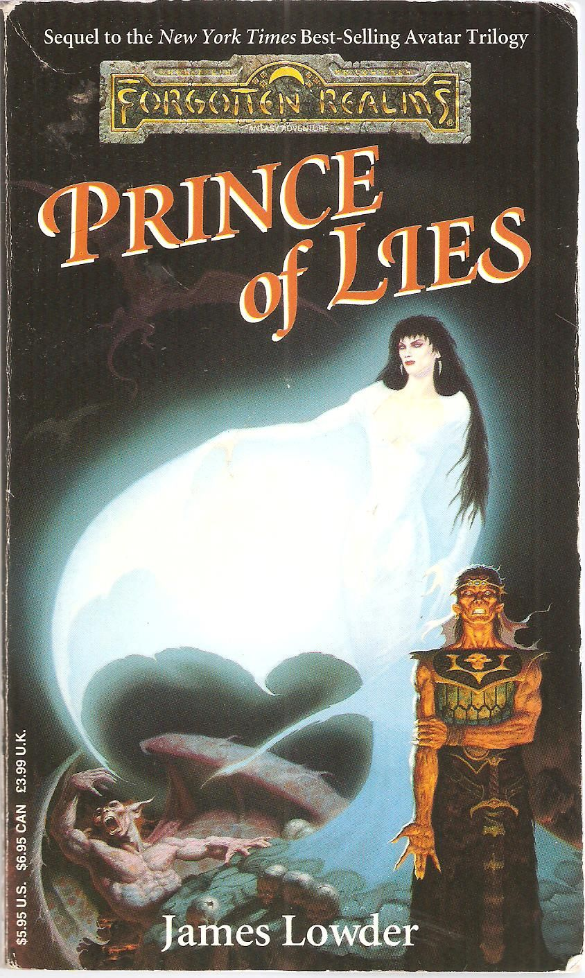Prince of Lies  by James Lowder  | Fogotten Realms | Forgotten