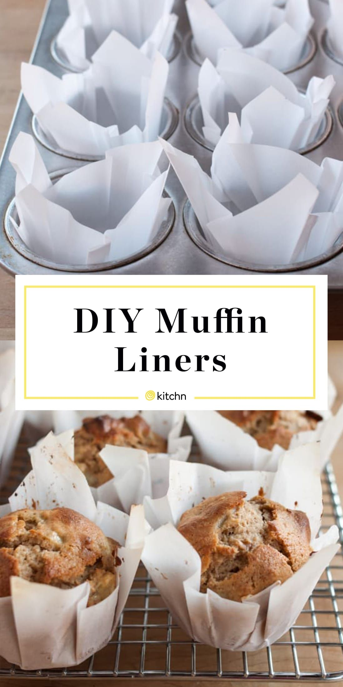 How To Make Muffin Liners Out Of Parchment Paper Recipe Easy Bread Recipes Food Food Recipes