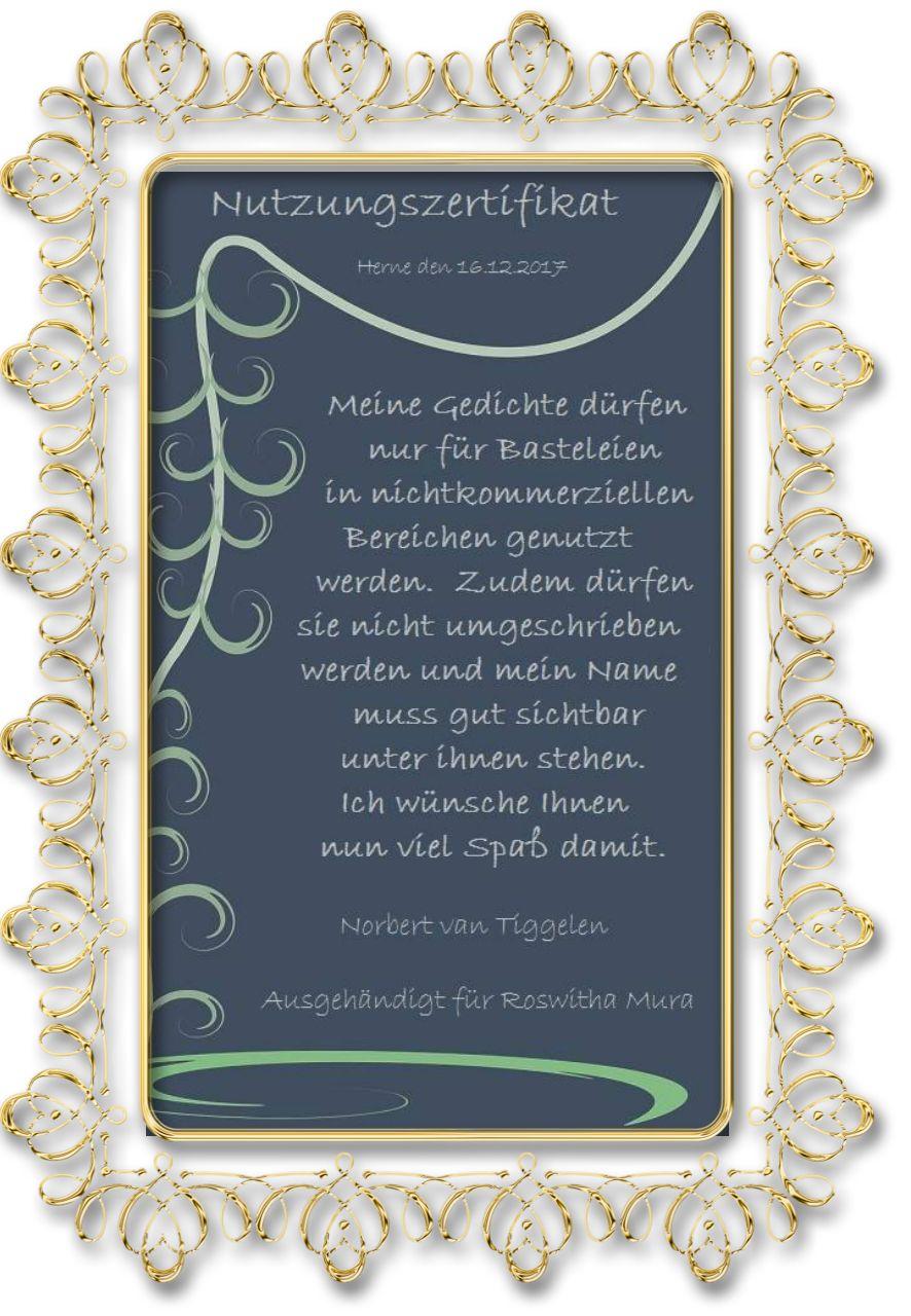 Vielen Dank an Norbert van Tiggelen ! Es ist mir immer wieder eine ...