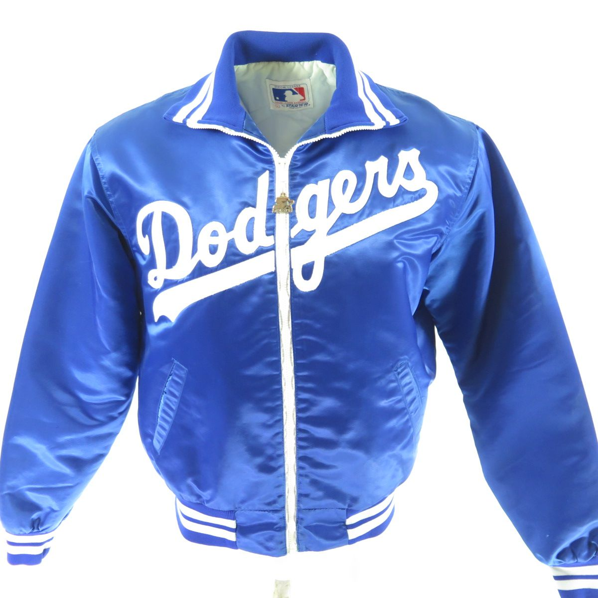3d3aed407 Vintage 80s Los Angeles Dodgers Starter Jacket Mens L Satin MLB ...