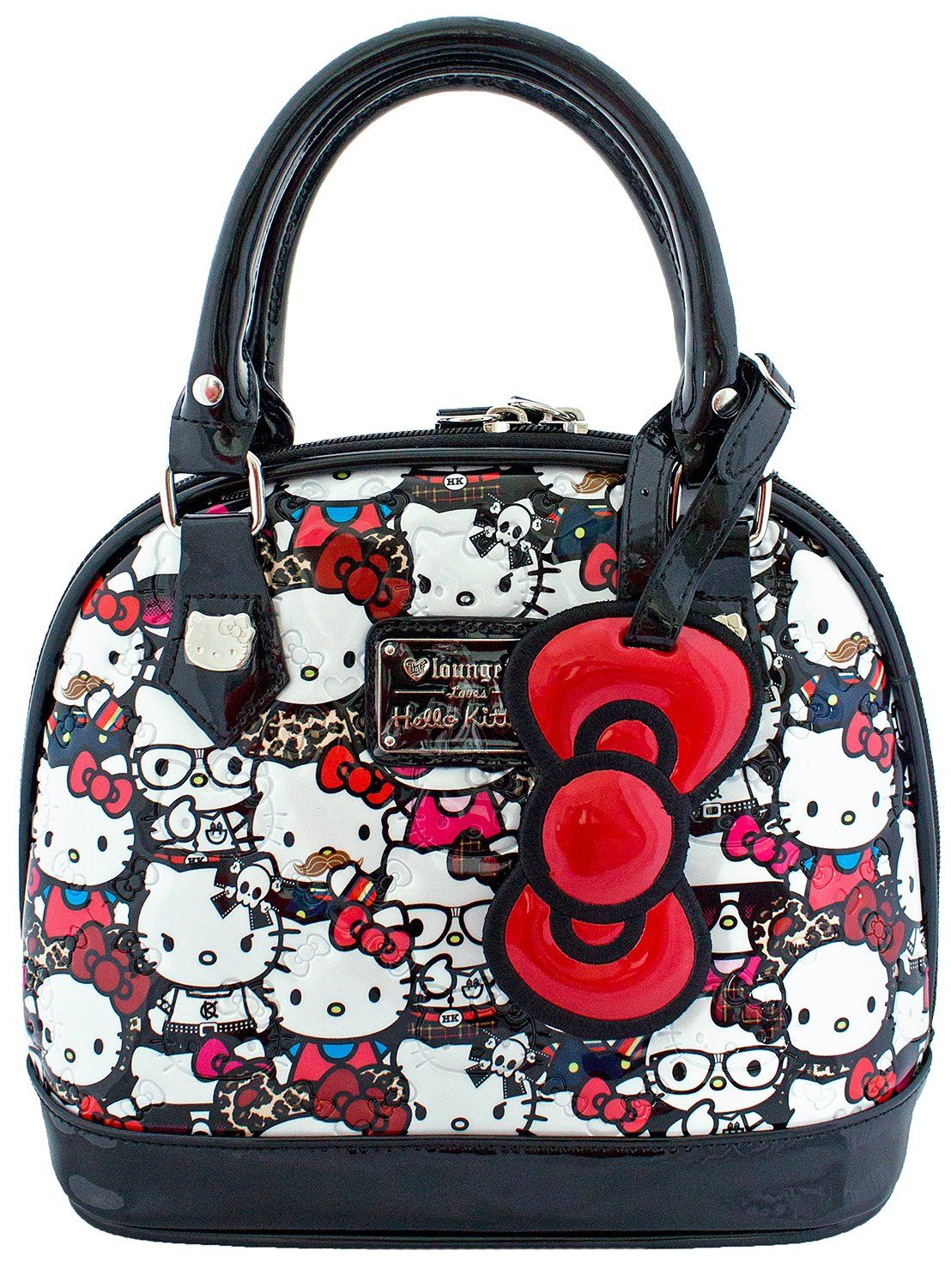348e4ef55 Loungefly Hello Kitty All Stars Patent Embossed Mini Bag | my hello ...