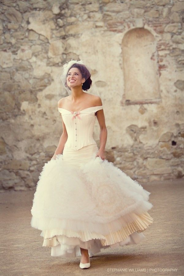 Love in The Mist | Corset, Corset wedding dresses and Lovely dresses