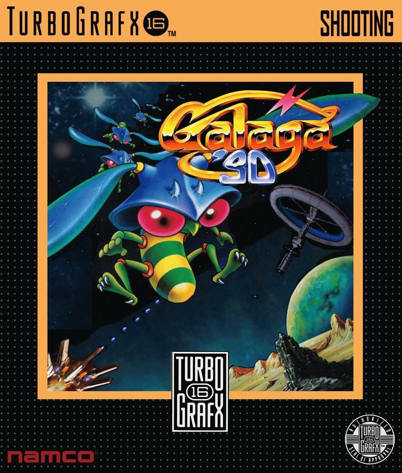 Galaga 90 (TurboGrafx16). #turbografx #retrogaming