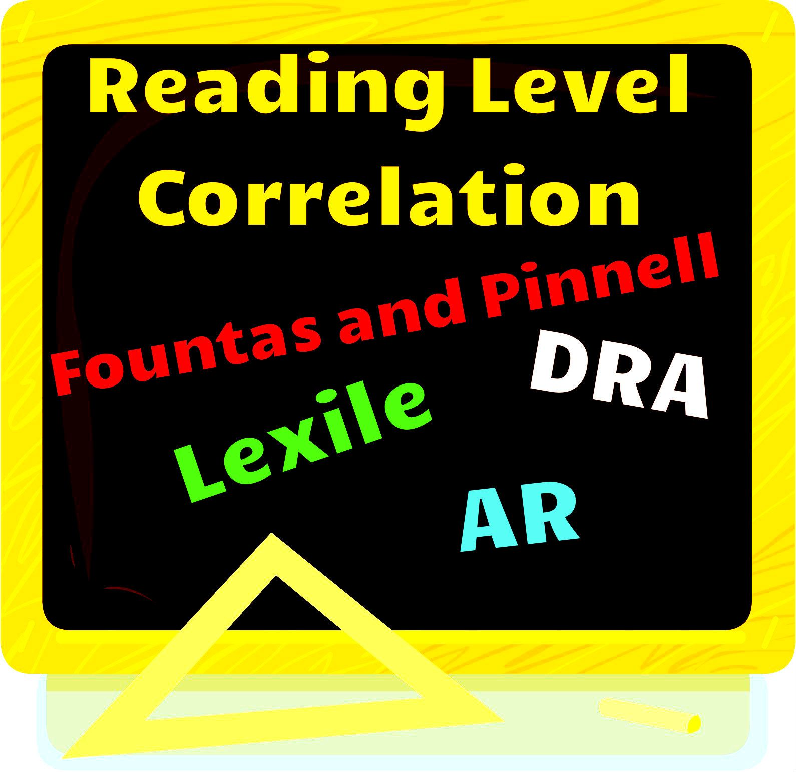 Free Reading Level Correlation Chart For Fontas And Pinnell Dra