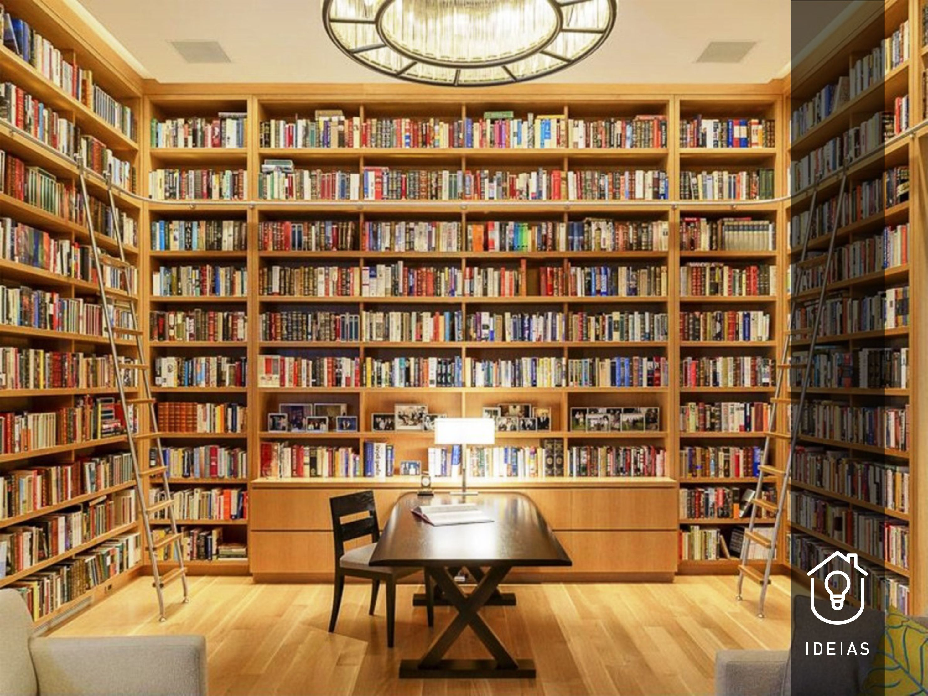 Charmant Gothic Home Office Library Design Ideas Home Library Office Design Ideas