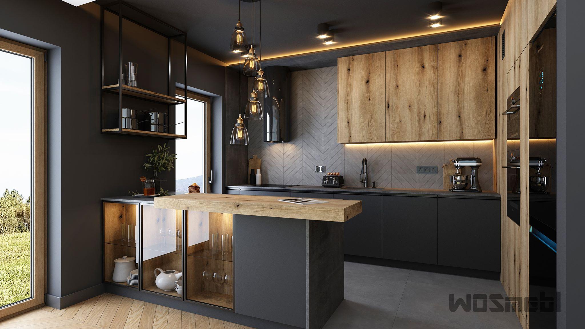 Realizacje Meble Kuchenne Na Wymiar Rzeszow Wosmebl Kitchen Design Kitchen Renovation Kitchen