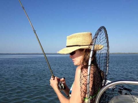 Catching speckled trout fishing rockport port aransas for Aransas pass fishing