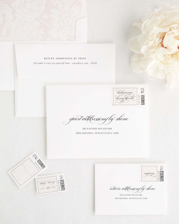 Haley Wedding Invitations   Pinterest   Custom postage stamps ...