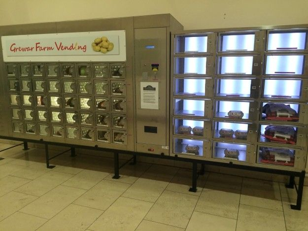 this mall that has a vending machine for a local farmer s goods