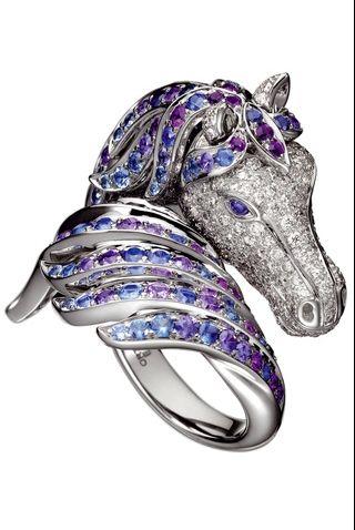 sitio de buena reputación f4f78 62570 Anillo de caballo | anillosful | Joyería de caballo, Joyas ...