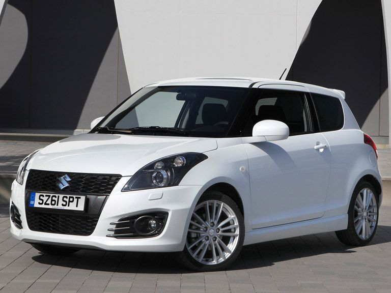 The Suzuki Swift Sport is the cheapest car on our list at