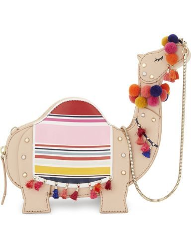 bb52e802d860ca NWT-Kate-Spade-CAMEL-034-whimsies-034-animal-purse-handbag