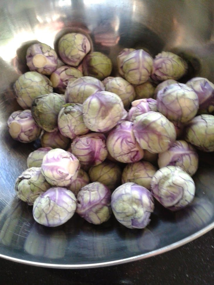 Lekker en gezond eten: Wokken met paarse spruiten