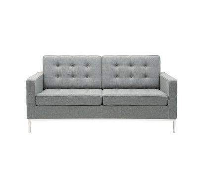 Replica Florence Knoll Sofa Fabric 2 Seater