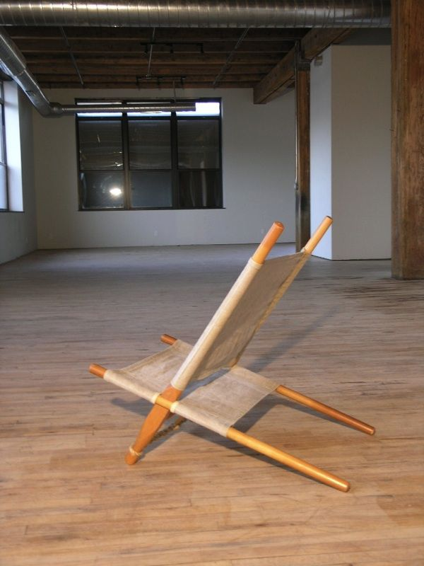 Saw Lounge Chair By Ole Gjerlov Knudsen For Cado