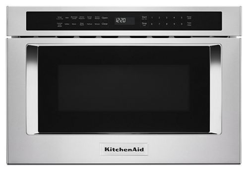 Stainless Steel 24 Under Counter Microwave Oven Drawer Kmbd104gss Kitchenaid Microwave Drawer Under Counter Microwave Kitchen Aid