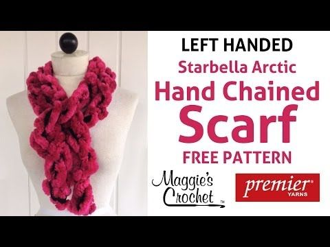 3 minute starbella artic hand chained scarf left handed explore crochet mittens crochet yarn and more dt1010fo