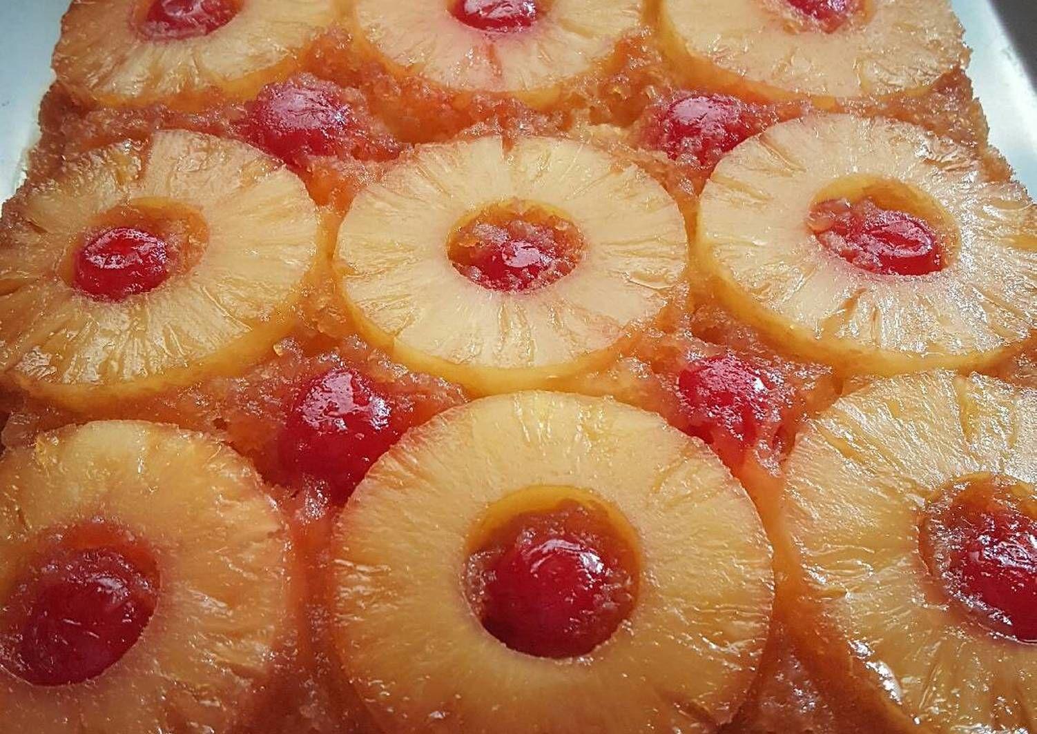 Pineapple Upside Down Cake Recipe By Eileen De Lang Recipe In 2020 Pineapple Upside Down Cake Pineapple Upside Down Pineapple Upside