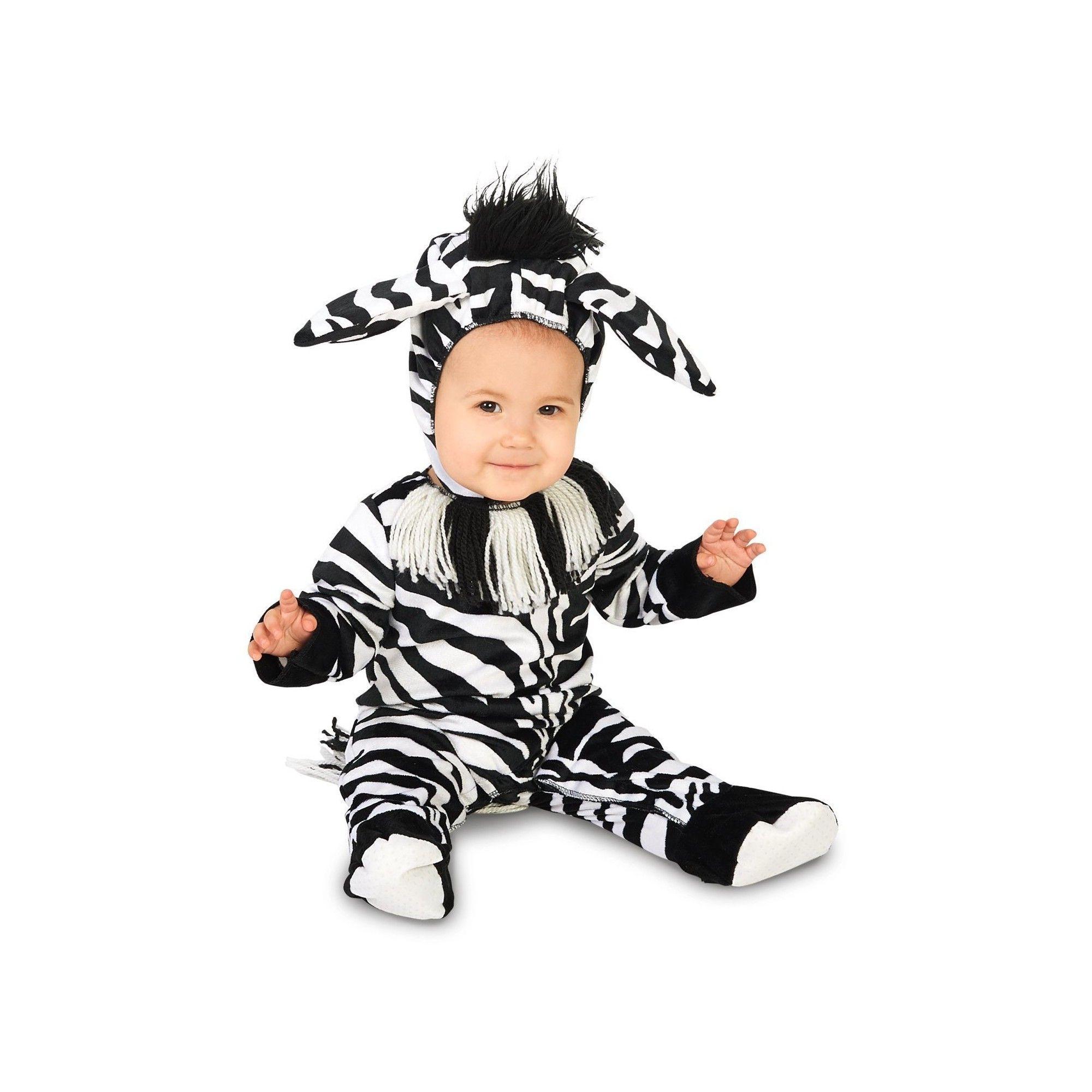 Halloween Zany Zebra Infant Costume 18-24 Months, Infant Unisex, Size: 18-24 M, Multicolored