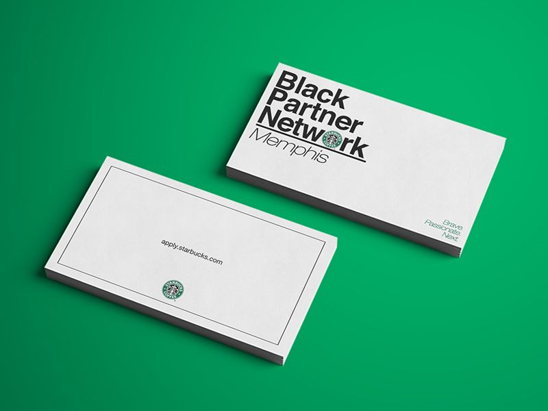 Starbucks BPN Business Cards | Business cards and Business