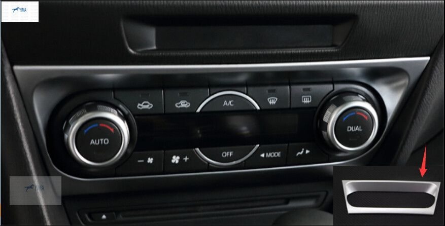$19.20 (Buy here: https://alitems.com/g/1e8d114494ebda23ff8b16525dc3e8/?i=5&ulp=https%3A%2F%2Fwww.aliexpress.com%2Fitem%2Finterior-For-Mazda-3-AXELA-M3-Sedan-2014-2015-ABS-Air-Conditioning-Control-Switch-Panel-Frame%2F32627869211.html ) interior For Mazda 3 AXELA M3 Sedan 2014 2015 ABS Air Conditioning Control Switch Panel Frame Knob Cover Trim for just $19.20