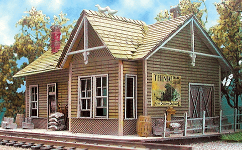 WHISTLE STOP JUNCTION 912 BAR MILLS N SCALE The