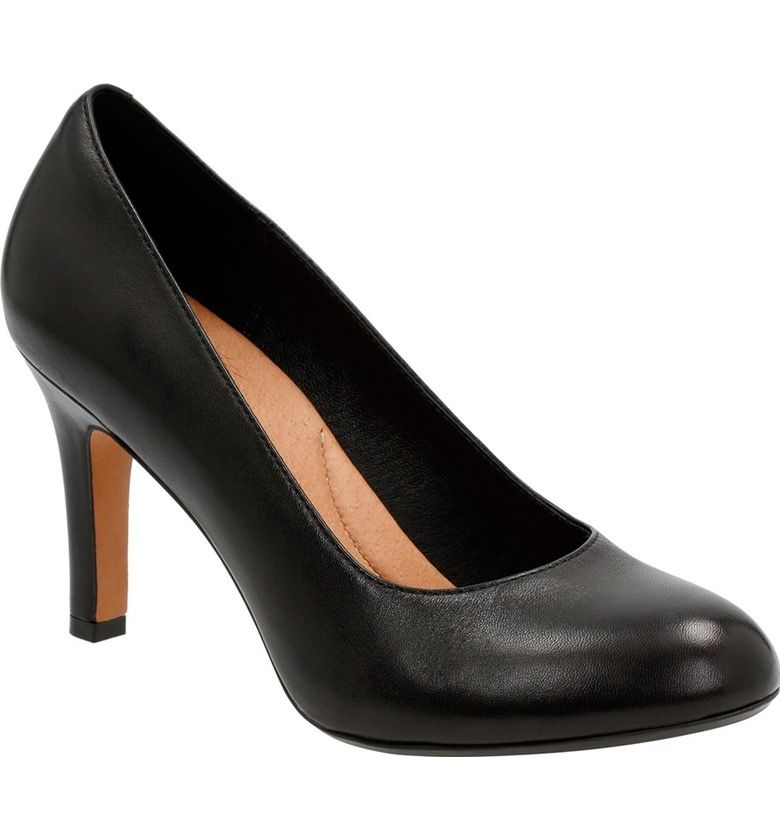 For Sale Popular Heavenly Star' Pump Women Womens Black Patent Leather Clarks Womens Comfort