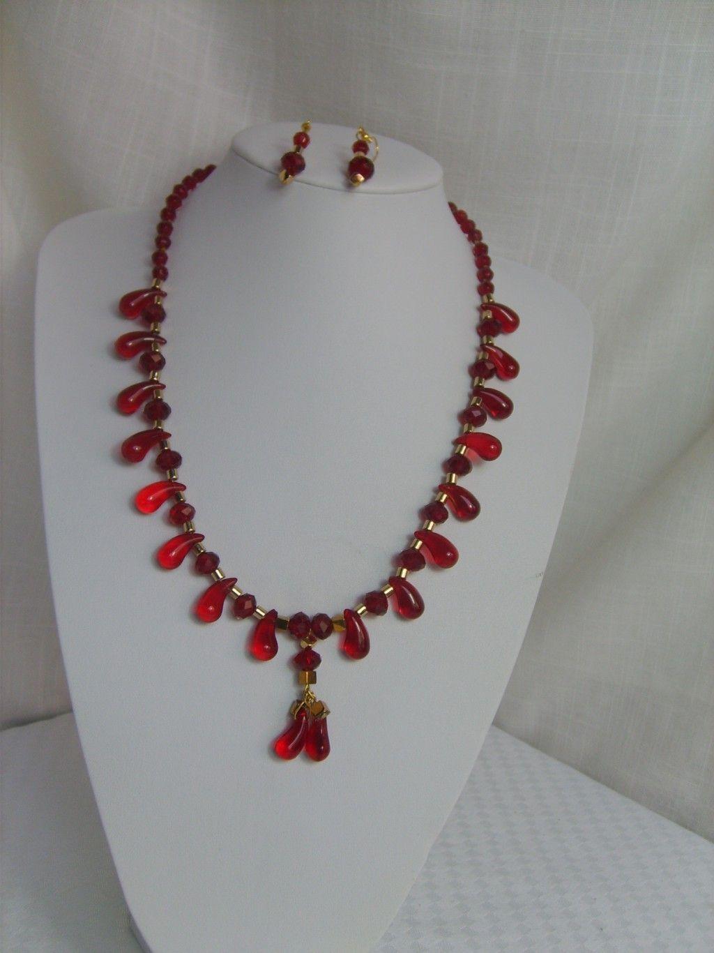 d9a9961d88ab Moderno collar de 50 cm de largo con cristales austriacos