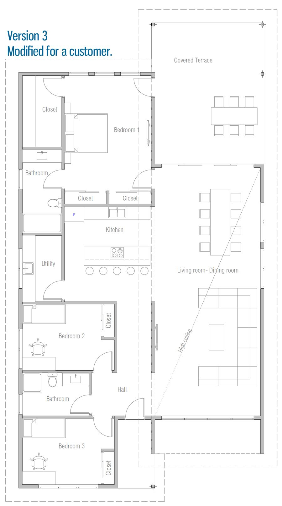 House Design House Plan Ch614 40 House Plans How To Plan Brick Exterior House