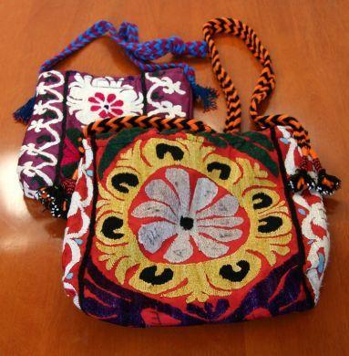 colorful shoulder bag (Tajikistan)
